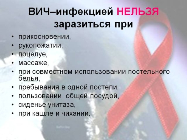 пути заражения ВИЧ и СПИДом