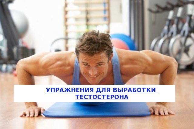 упражнения для выработки тестостерона