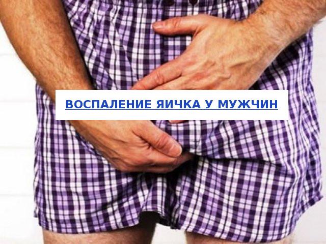 Воспаление яичка у мужчин
