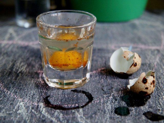 коктейль из перепелиных яиц для потенции