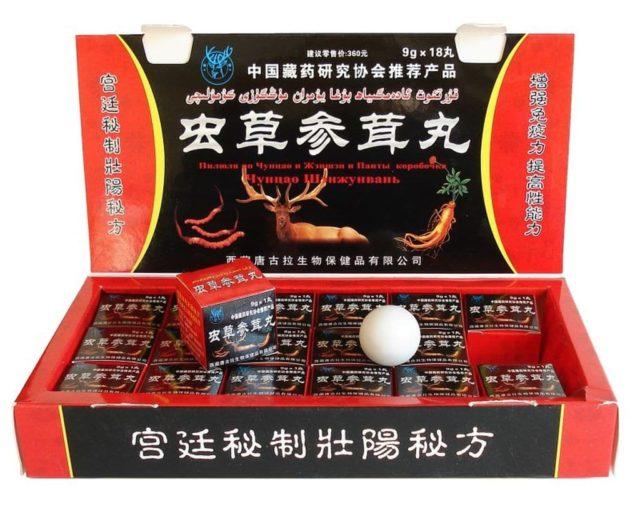 китайские шарики для потенции отзывы