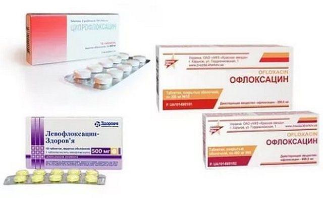 антибиотики при простатите наиболее эффективные