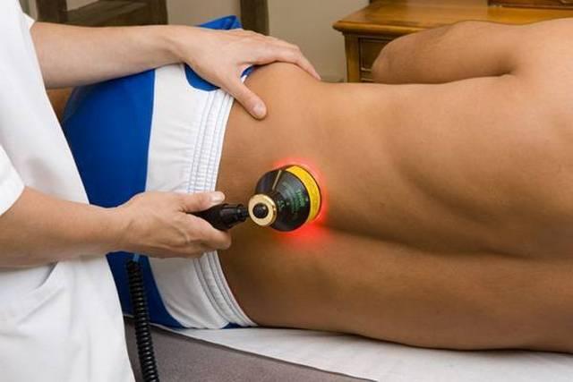 лазеротерапия простатит урология