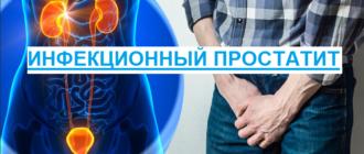инфекционные агенты и бактерии привели к воспалению простаты